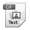 Free Silverlight GIF Text Application